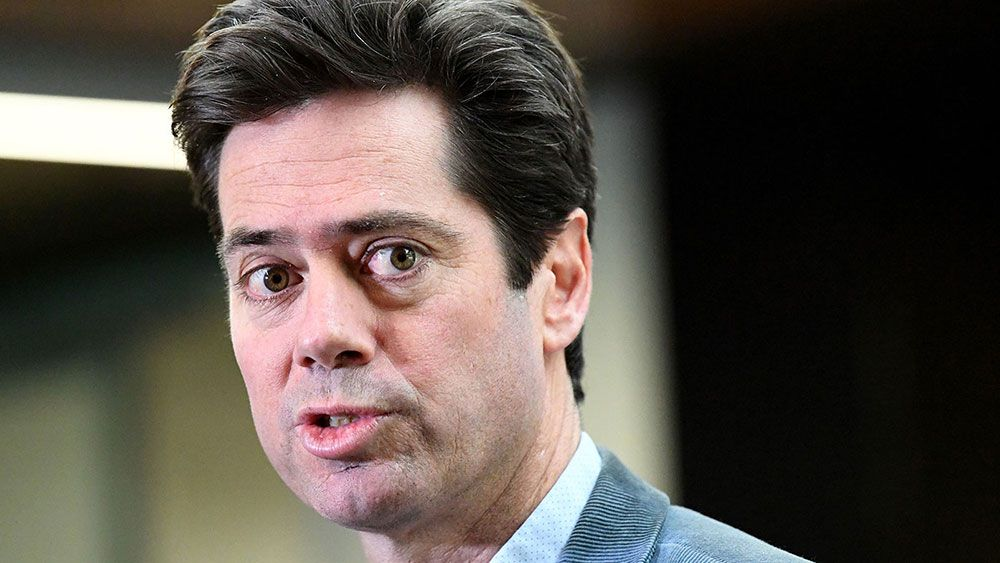 AFL boss Gillon McLachlan backs calls to ban journalists