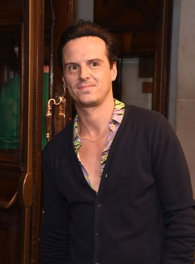 Andrew Scott, Fleabag press conference, The Wyndham's Theatre, August 28, 2019, London, England.