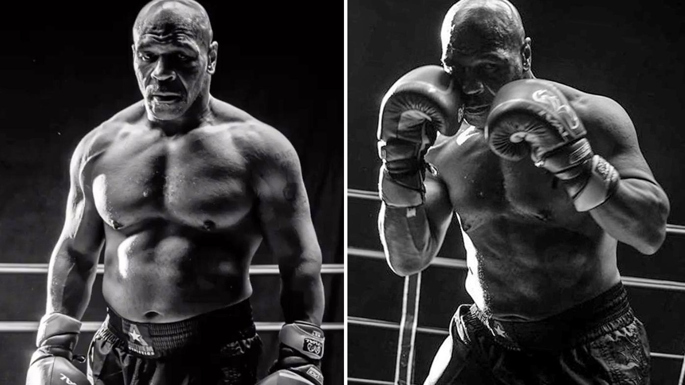 Mike Tyson shows off his physical transformation
