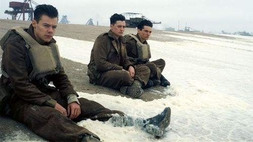 The film follows multiple characters in the days either side of the Dunkirk evacuation by British troops. (AAP)