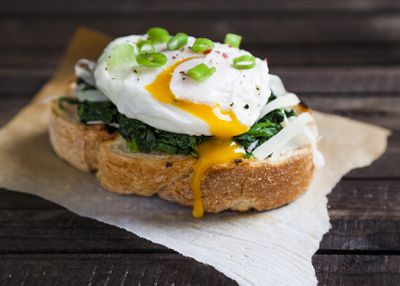 <strong>1. Poached egg</strong>