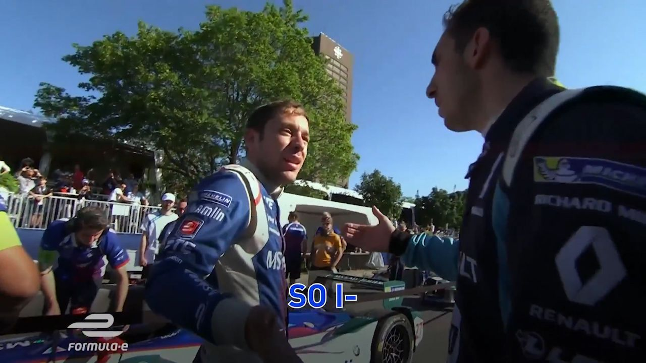 Buemi fumes at three different drivers