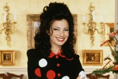 <b>Back in the 90s…</b> That nasal voice and beehive hair won our hearts in the 90s hit sitcom <i>The Nanny</i>.