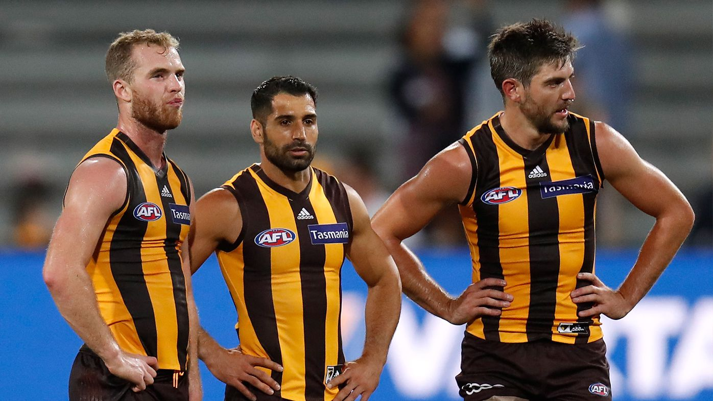 Hawthorn players in JLT