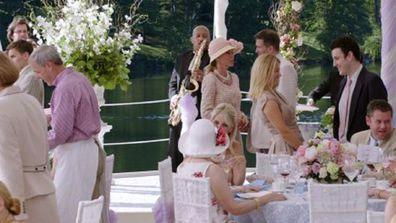 The Big Wedding movie scene reception
