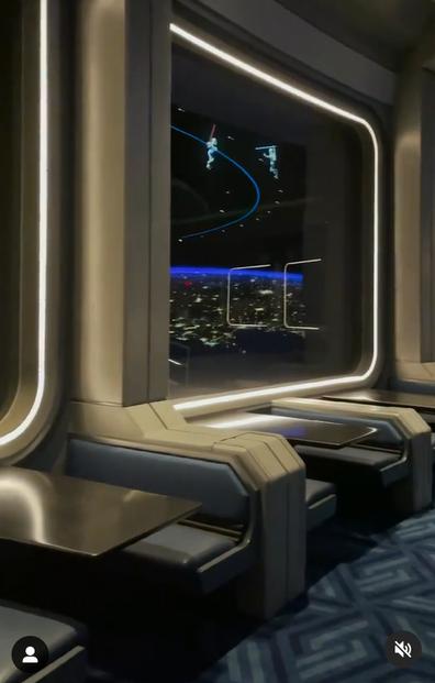Inside Disney World's new Space 220 restaurant