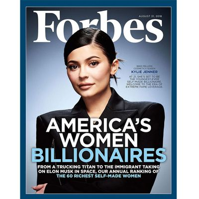 That time Kylie was named youngest self-made billionaire