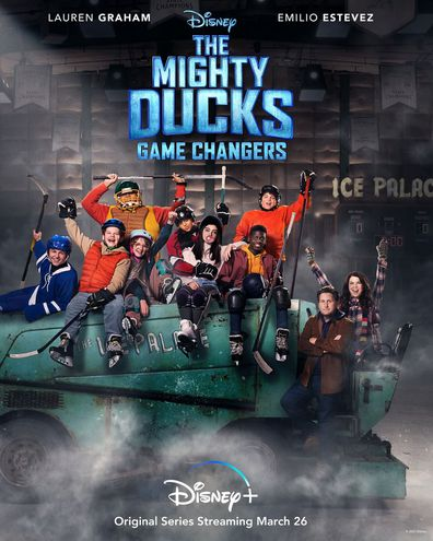 Sway Bhatia stars in the new Mighty Ducks: Game Changers TV series on Disney Plus.