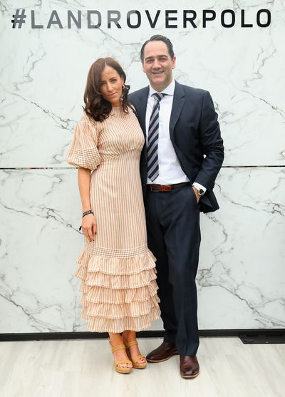 Radio host Michael Wipfli and wife Lisa in Zimmermann