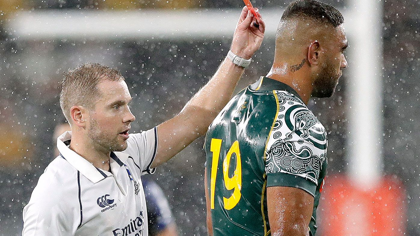 World Rugby 'misguided' in not allowing replacements after 20 minutes for red-carded players