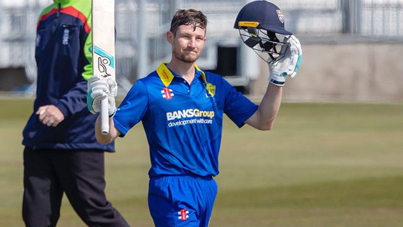 Cameron Bancroft hits century on Durham debut in English one-day competiton