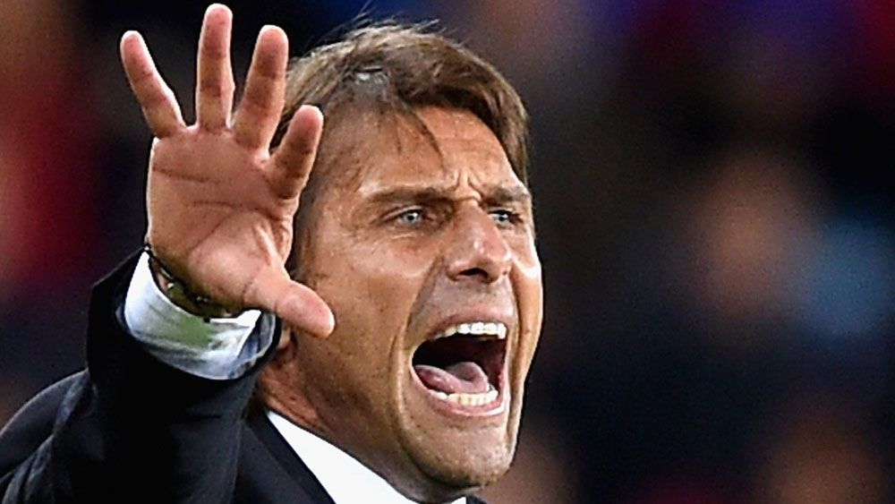 Antonio Conte is facing rumours about his future. (AAP)