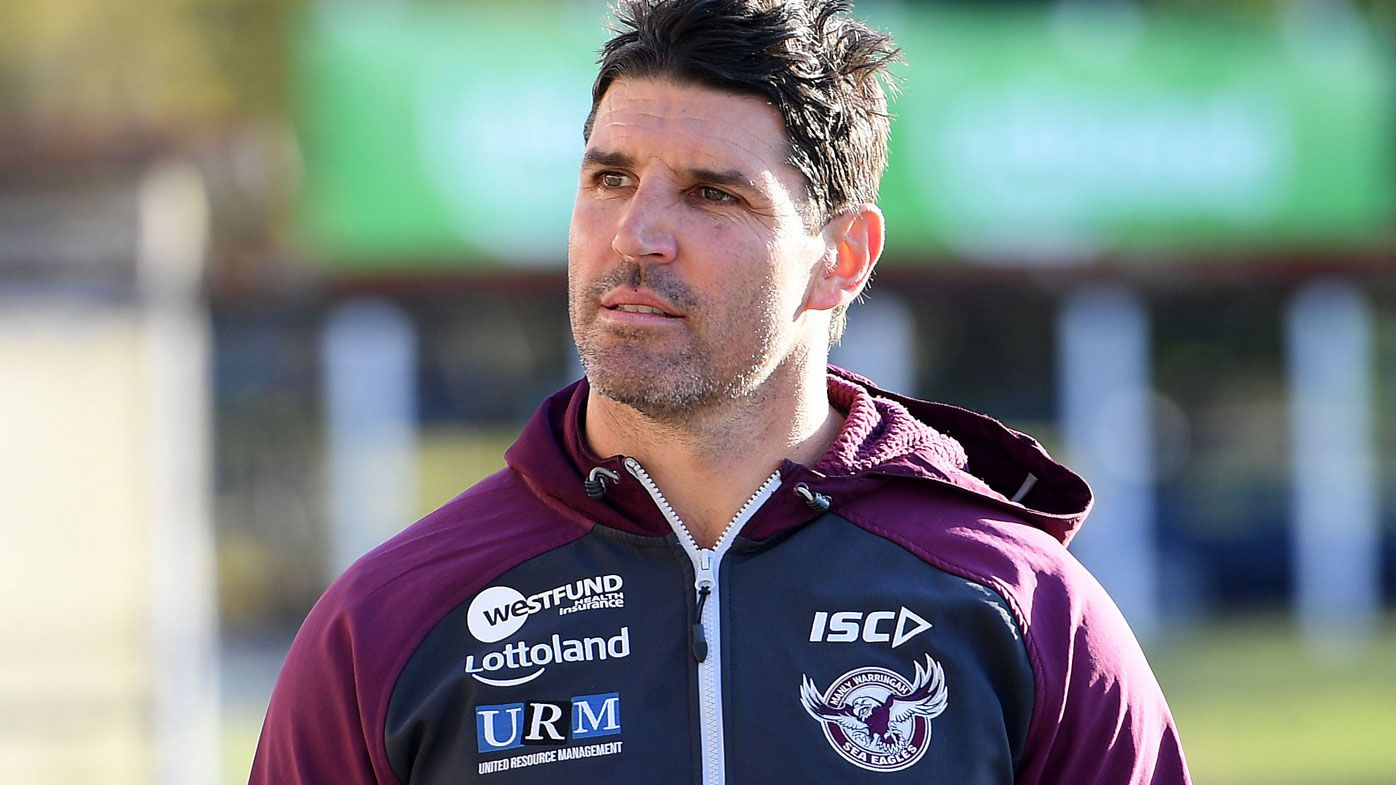 Manly could sack disgruntled coach Trent Barrett before end of NRL season as feud escalates
