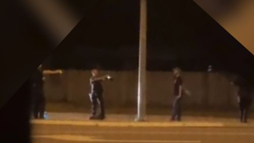 Police arrest man in Cairns.