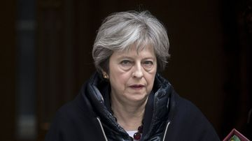 Theresa May suddenly has a huge role in the 'defence of democracy'