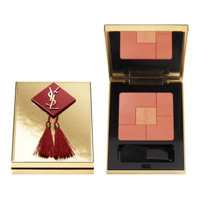 <p>Yves Saint Laurent Red &amp; Fire Ltd Chinese New Year Palette, $75.</p> <p>Inspired by Yves Saint Laurent&rsquo;s 1977 Chinese collection and his interpretation of Chinese art of knot work. Firstly, it's gorgeous - secondly, it's a traditional symbol of both wealth &amp; joy.</p>