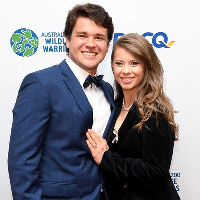 Bindi Irwin and Chandler Powell.