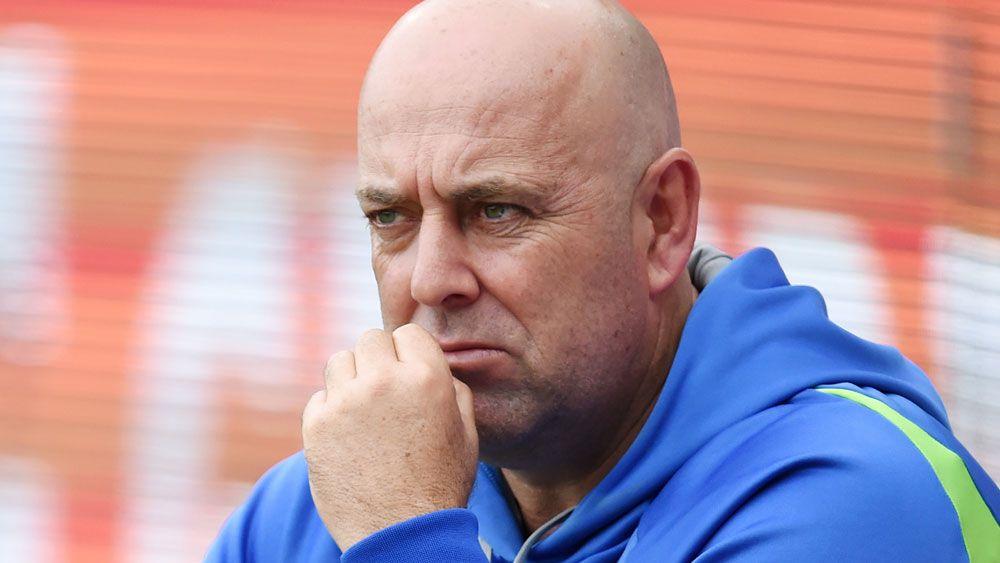 Australia coach Darren Lehmann. (AAP)