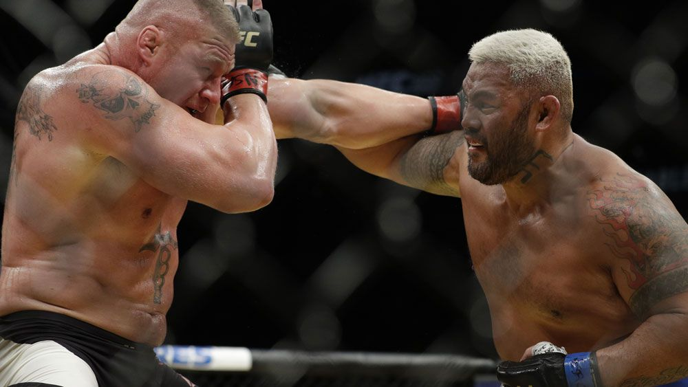 The 'Super Somoan' Mark Hunt is set for a fight at UFC 209. (AAP)