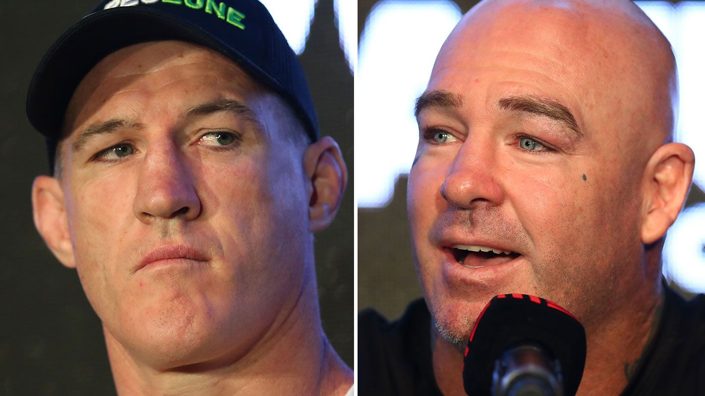 'Jealous of me and what I've achieved': Paul Gallen claps back at Lucas Browne after pre-fight press conference