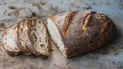 "Recipe: <a href=""https://kitchen.nine.com.au/2016/10/05/14/21/brasserie-breads-easy-whole-wheat-bread"" target=""_top"">Brasserie Bread's easy whole wheat loaf</a>"