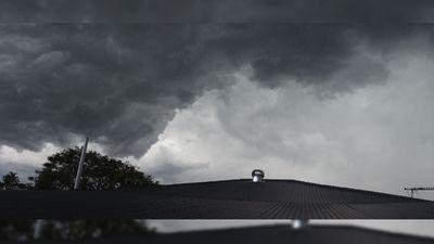 Grey skies over Ipswich. (Rebecca Johnson)