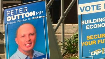 Peter Dutton's battle to keep his seat in parliament