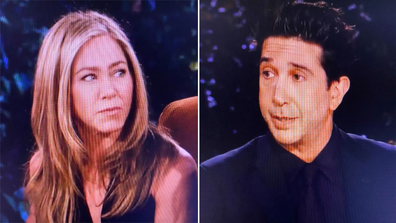 Jennifer Aniston, David Schwimmer, Friends: The Reunion special