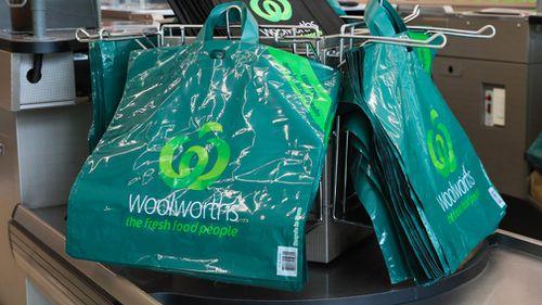 Woolworths multi-use bags.