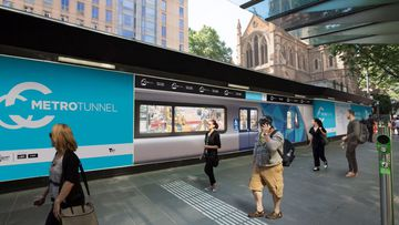 Five new metro train station names have been revealed. (Metro Tunnel Victoria)
