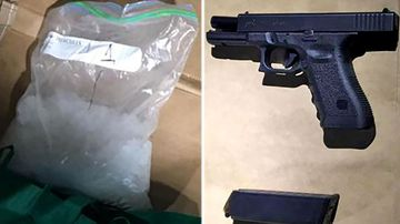 Image result for port new zealand guns tauranga cocaine