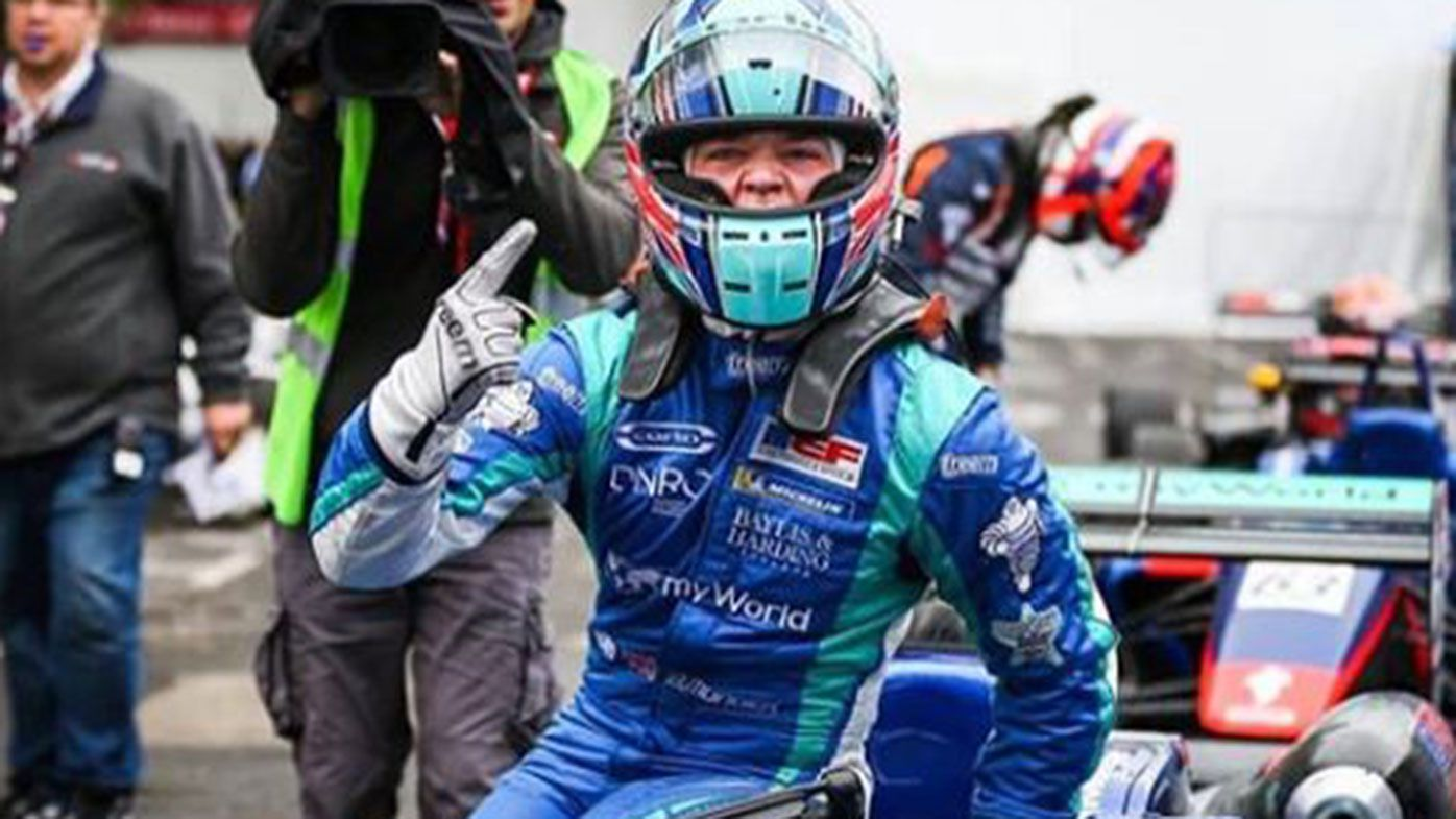 Monger takes incredible maiden single-seater victory