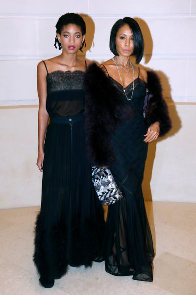Willow Smith and Jada Pinkett Smith, Chanel Metiers d'Art 2016/17