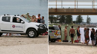 Mother's screams after second beach drowning in eight days