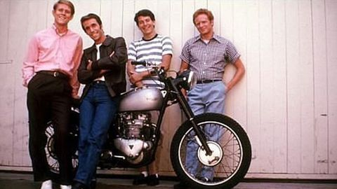 Fonzie's long-lost motorbike goes up for auction