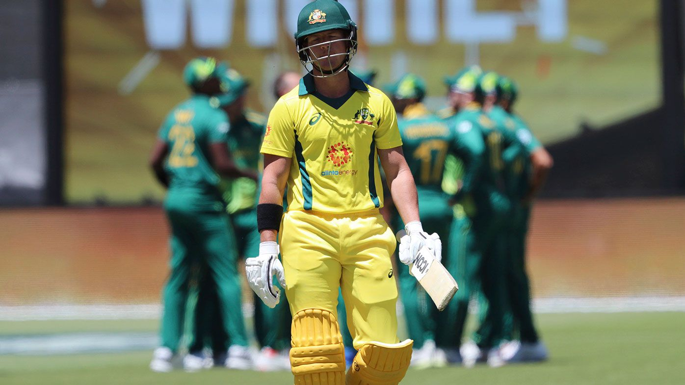 D'Arcy Short axed from the Australian ODI side.