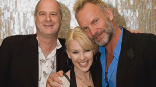 Michael Gudinski signed Kylie Minogue in 1987, and worked with some of the biggest names in music.