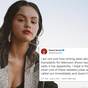 Selena Gomez responds to 'tasteless' joke after show mocks her
