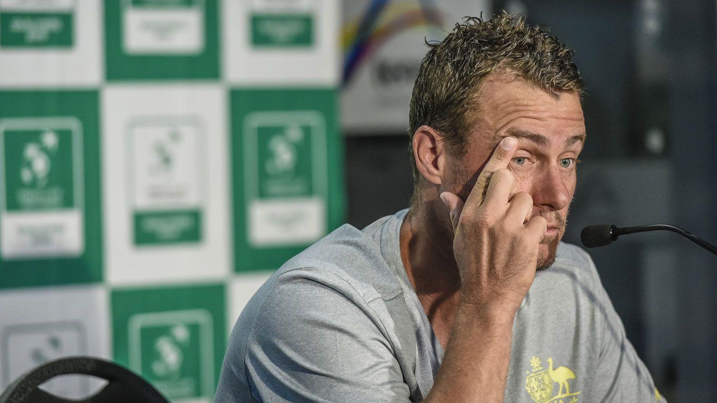 Australian captain Lleyton Hewitt stands firm on Davis Cup criticism