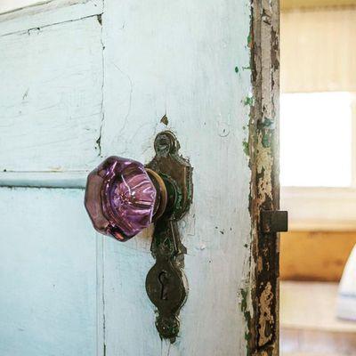 Change your doorknobs