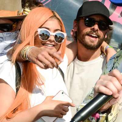 Kylie Jenner and Scott Disick