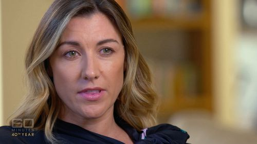 Former journalist Talitha Cummins spoke about her battle with alcohol addiction. (60 Minutes)