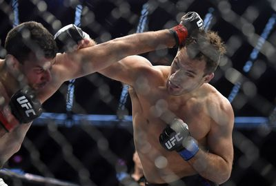 The fight ended when Perosh was knocked out by a huge right hand from the New Yorker.