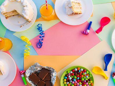 Birthday party food no kids