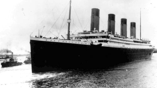 The Titanic leaves Southampton, England on her maiden voyage.