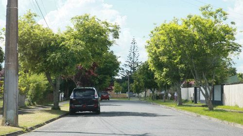 The street where the incident happened was quiet on Tuesday, with residents mourning the baby's death.