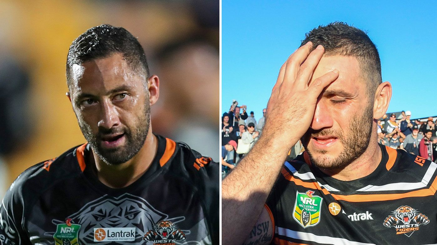 Benji Marshall (left) and Robbie Farah