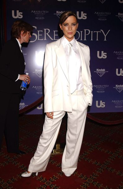Kate Beckinsale, Serendipity premiere, New York, 2001