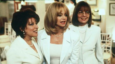 Bette Midler, Goldie Hawn And Diane Keaton in First Wives Club.