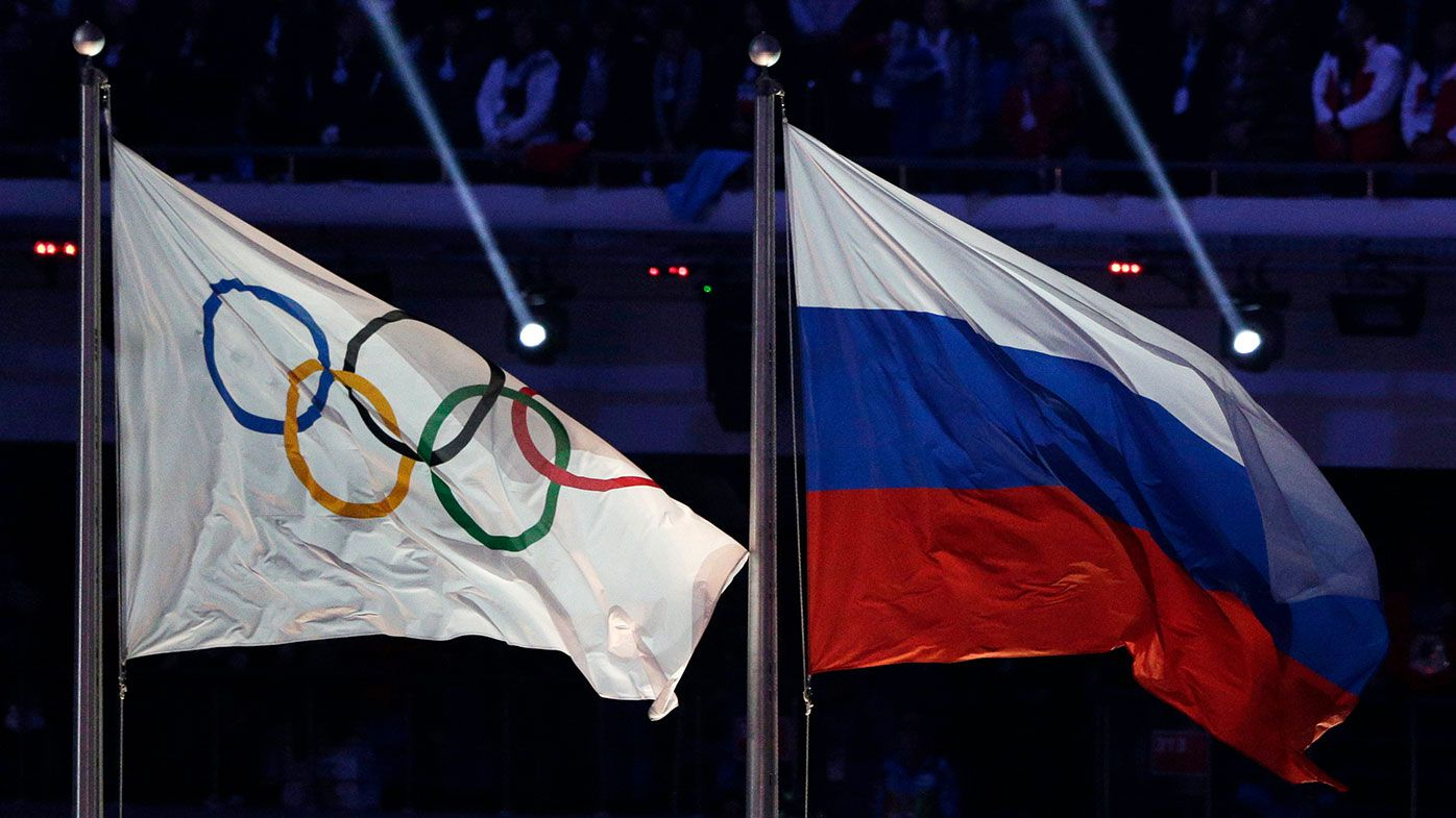 Russia has been banned from using its name and flag at the next two Olympics.